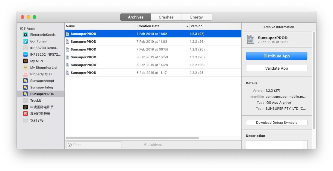 Export IPA file from Xcode and install on your mobile